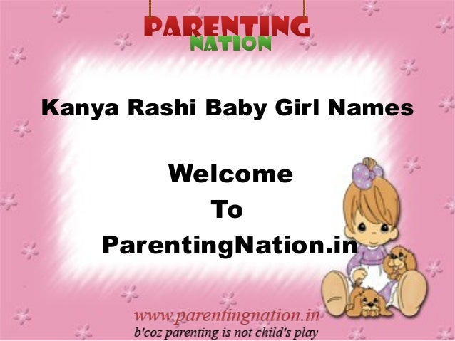 Kanya Rashi Baby Girl Names With Meanings