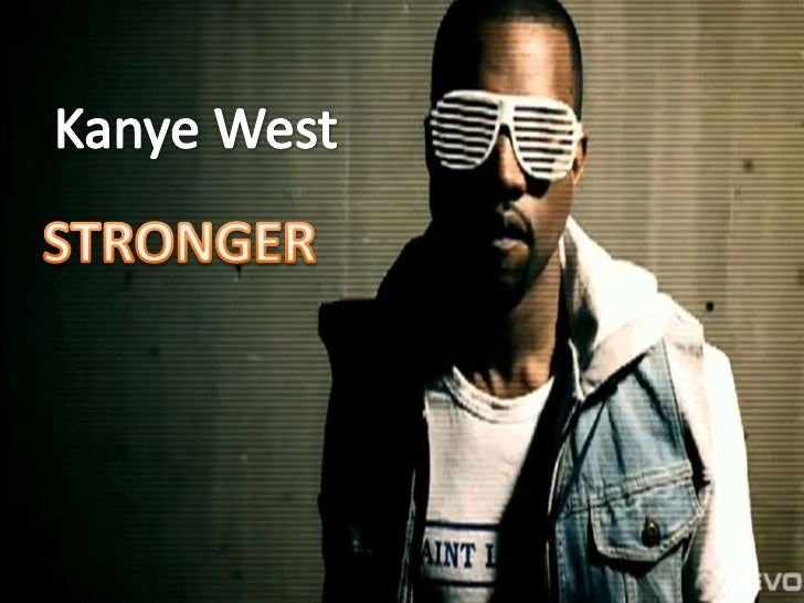 Goodwin analysis: Kanye West - Stronger