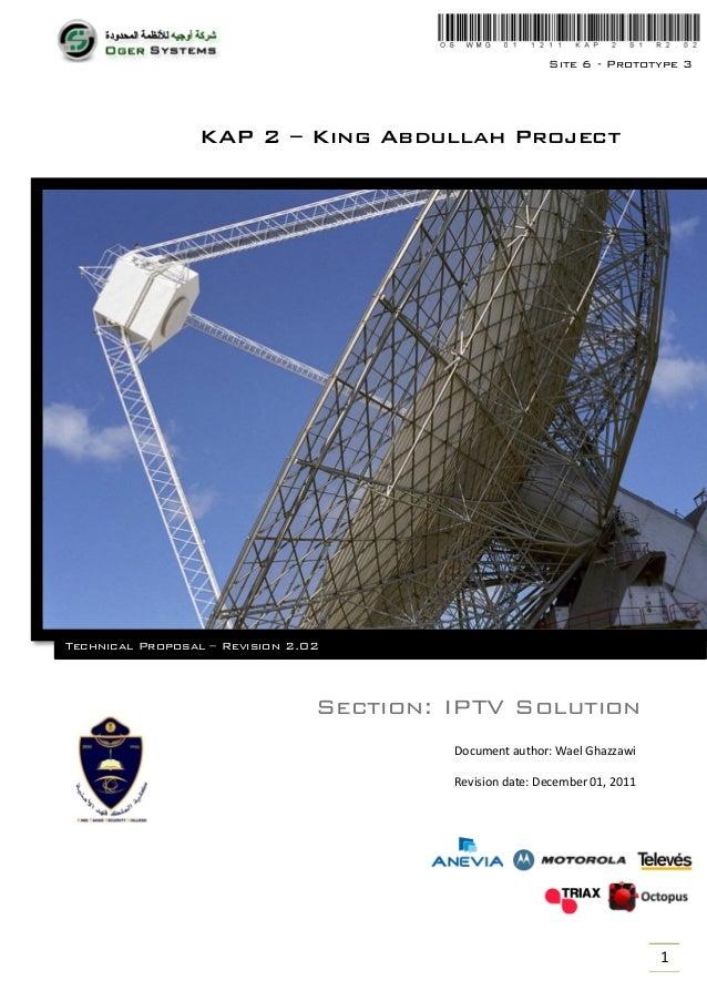 Technical Proposal - IPTV - Solution Design