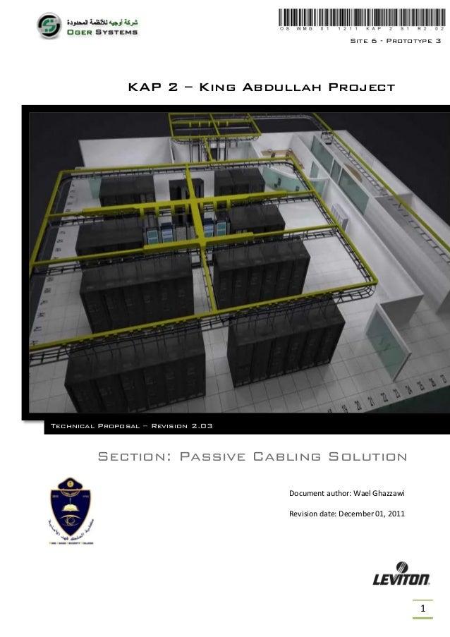 Site 6 - Prototype 3               KAP 2 – King Abdullah ProjectTechnical Proposal – Revision 2.03         Section: Passiv...
