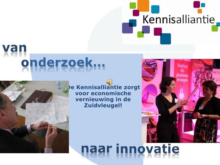 Kennisalliantie presentatie slideshare