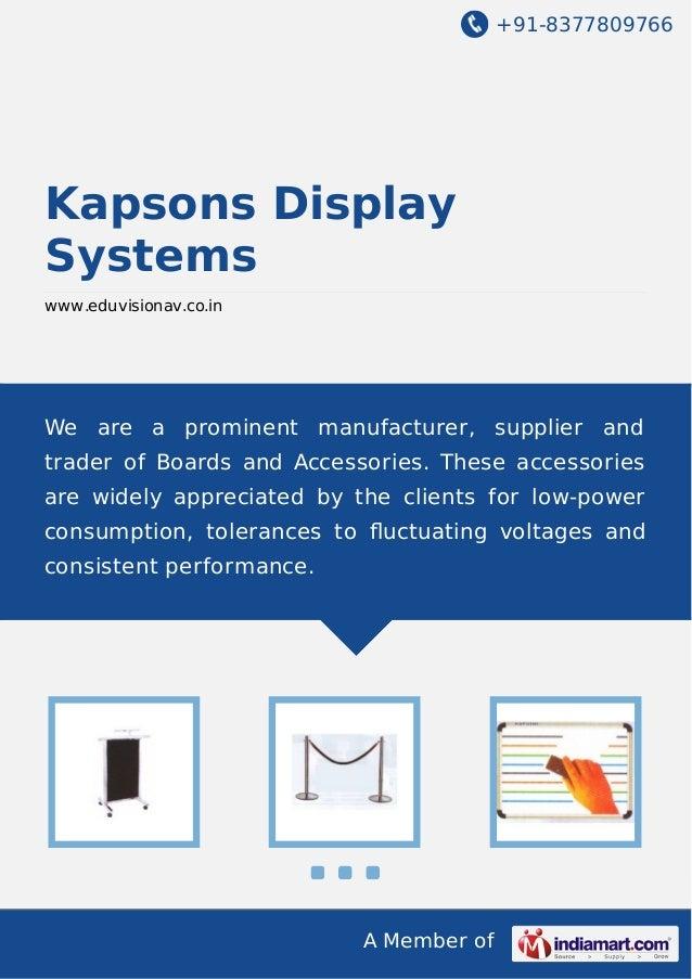 Kapsons display-systems