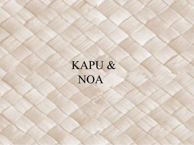 KAPU & NOA