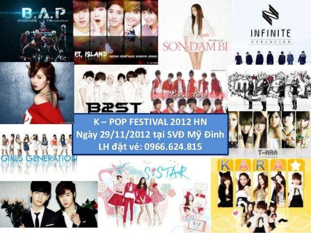 Kara tham gia Kpop festival 2012 - Mua ve 0966624815