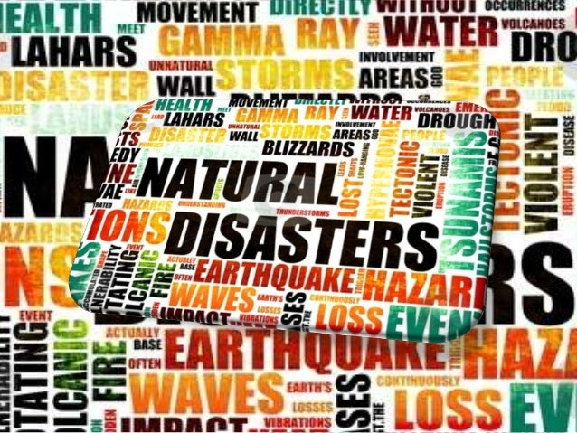 Natural Disaster.. • A natural disaster is an event with a natural, as opposed to human, cause that results in large-scale...