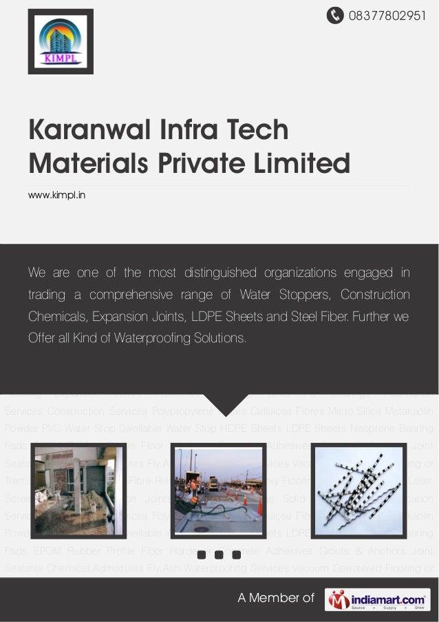 08377802951A Member ofKaranwal Infra TechMaterials Private Limitedwww.kimpl.inWaterproofing Services Vacuum Dewatered Floo...