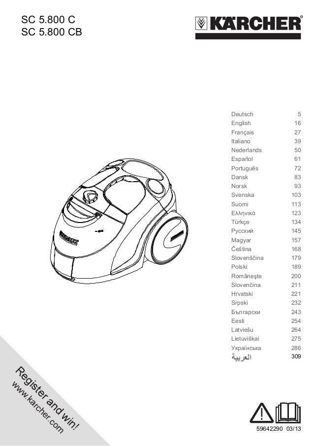Karcher sc 5.800 c eu