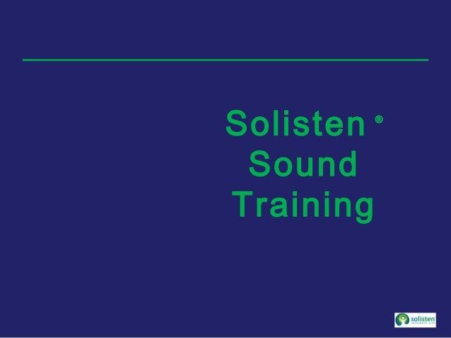 Solisten ® Sound Training