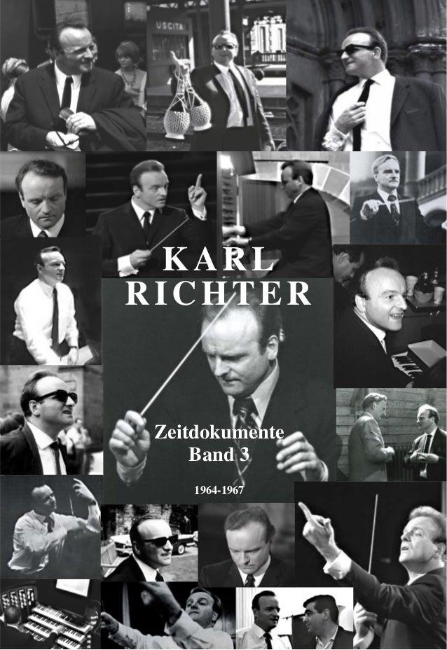 1 Zeitdokumente Band 3 1964-1967 KARL RICHTER