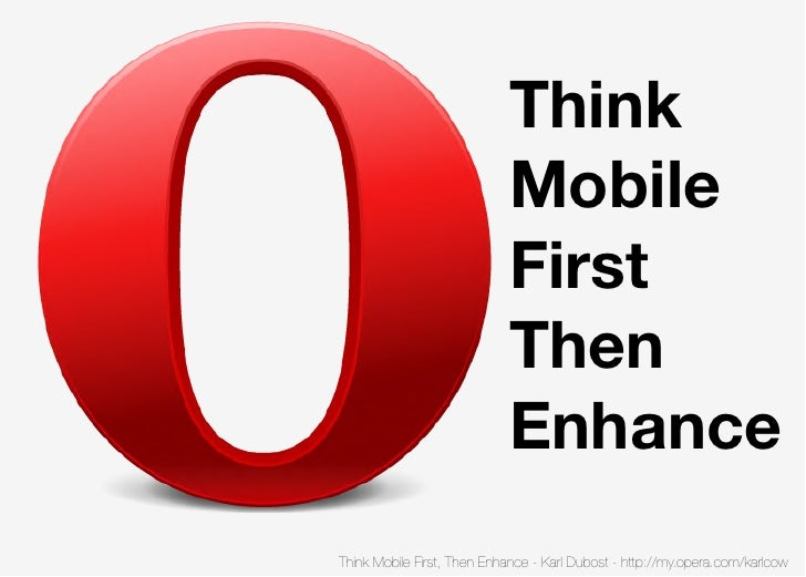 Think                            Mobile                            First                            Then                  ...