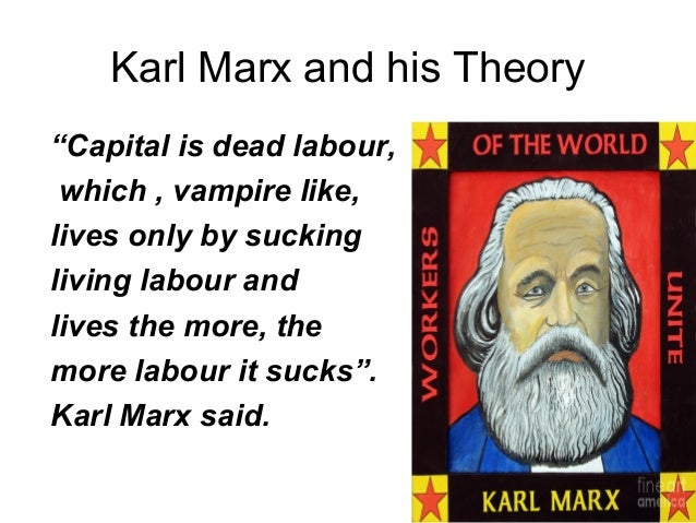 karl marx and his ideas