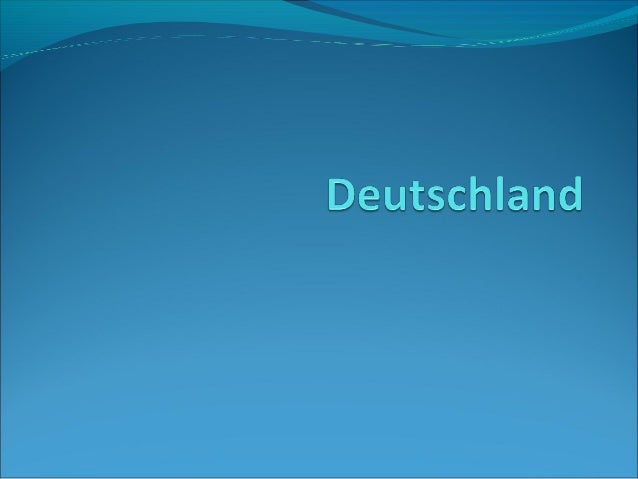 Allgemeine AngabenLage-in der Mitteleuropa Fläche-357 111,91 km²Einwohnerzahl-81 757 600 (2010)Hauptstadt-BerlinSprac...