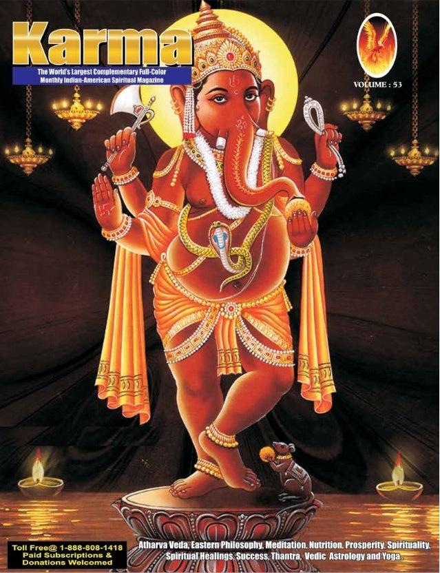 Karma magzaine  commander selvam selvam siddhar- karma magazine the only spiritual free magazine for hindus from usa