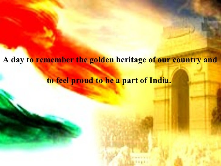 QMIS - Happy Republic Day A day to remember the golden heritage of our country and to feel proud to be a part of India.