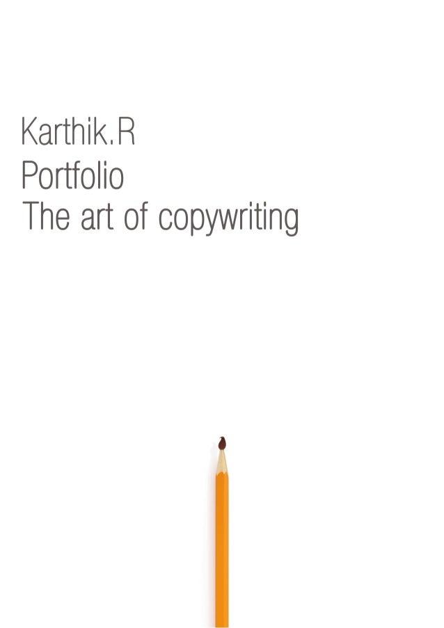 Karthik.R Portfolio