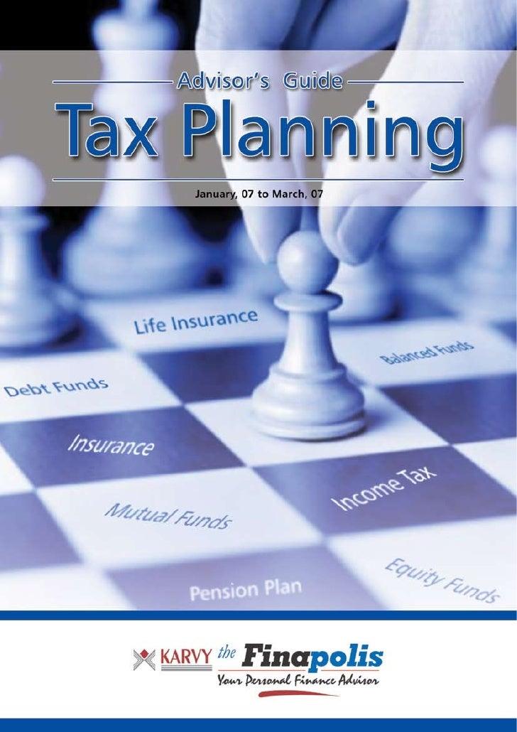 Karvy Tax Plan