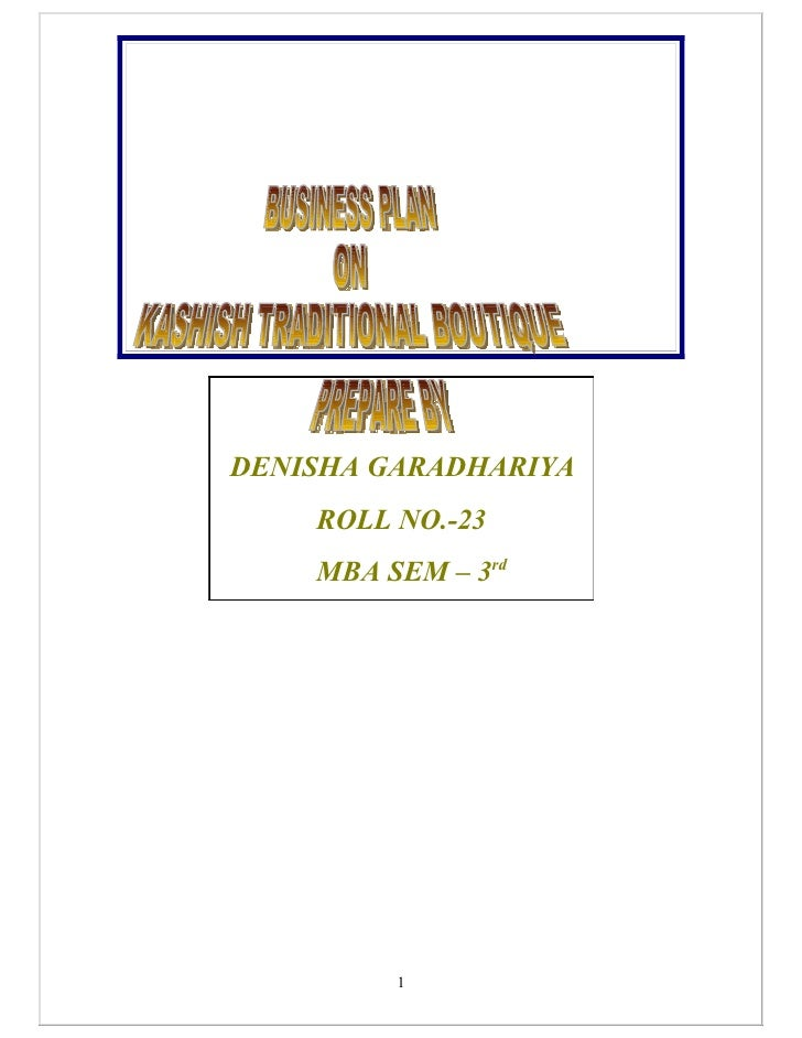 DENISHA GARADHARIYA    ROLL NO.-23    MBA SEM – 3rd         1