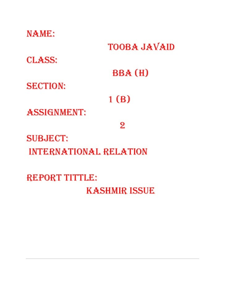 NAME:               TOOBA JAVAIDCLASS:                BBA (H)SECTION:               1 (B)ASSIGNMENT:                 2SUBJ...