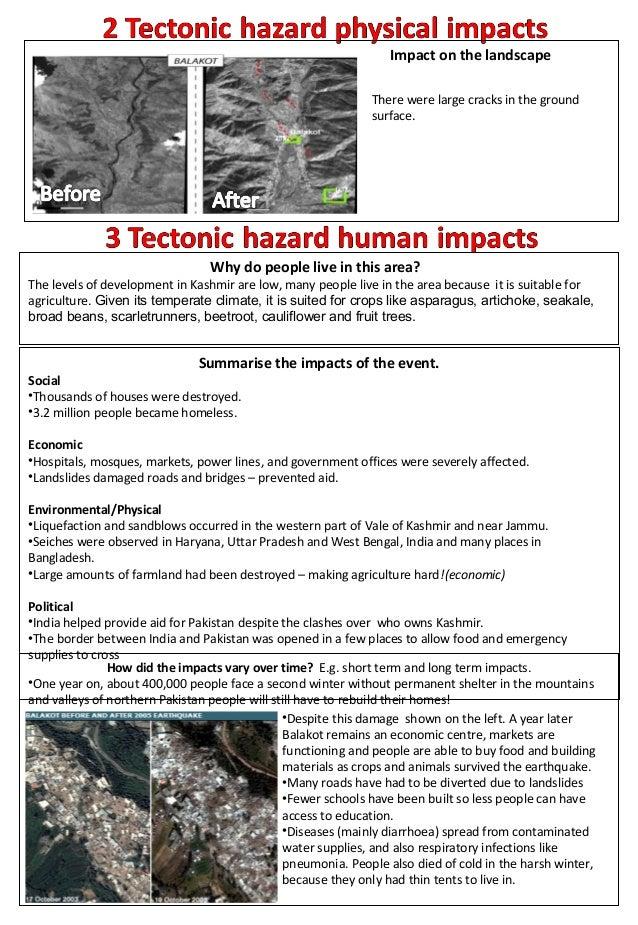 Explain long term effect of earthquake?