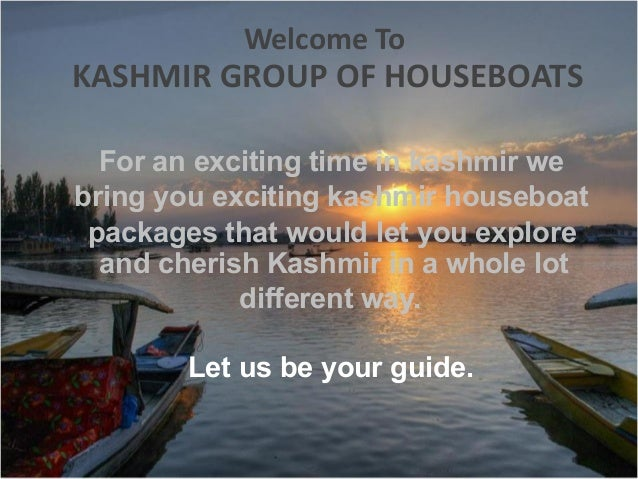 Kashmir Houseboats Packages Exciting Kashmir Houseboat