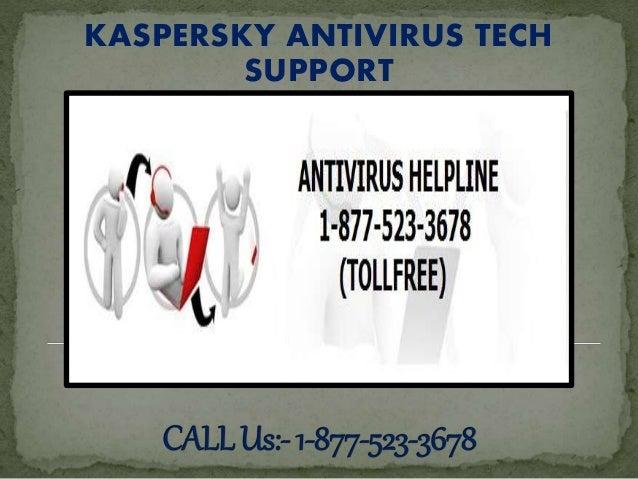 KASPERSKY ANTIVIRUS TECH SUPPORT