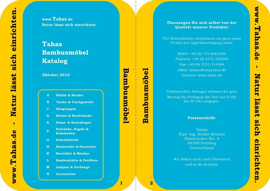www.Tahas.de - Natur lässt sich einrichten.www.Tahas.de - Natur lässt sich einrichten.                                    ...