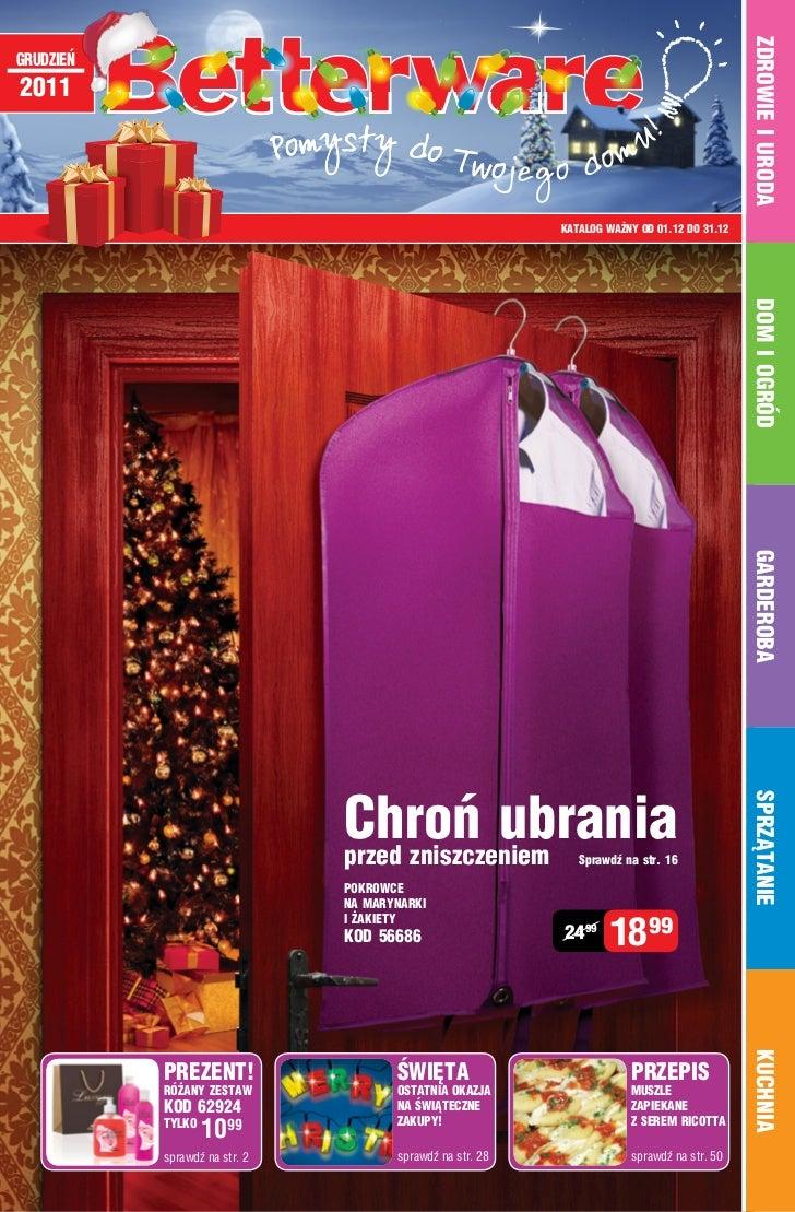 Katalog Betterware - Grudzie 2011
