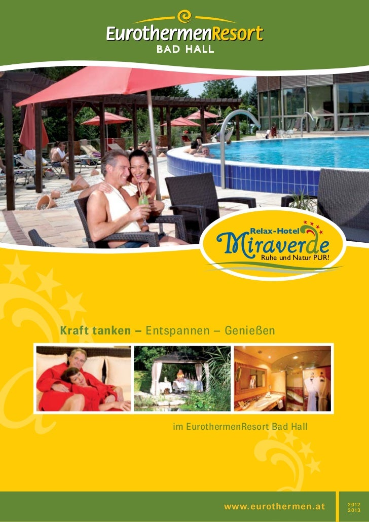 BAD HALL                                  Relax-Hotel                                    Ruhe und Natur PUR!Kraft tanken –...