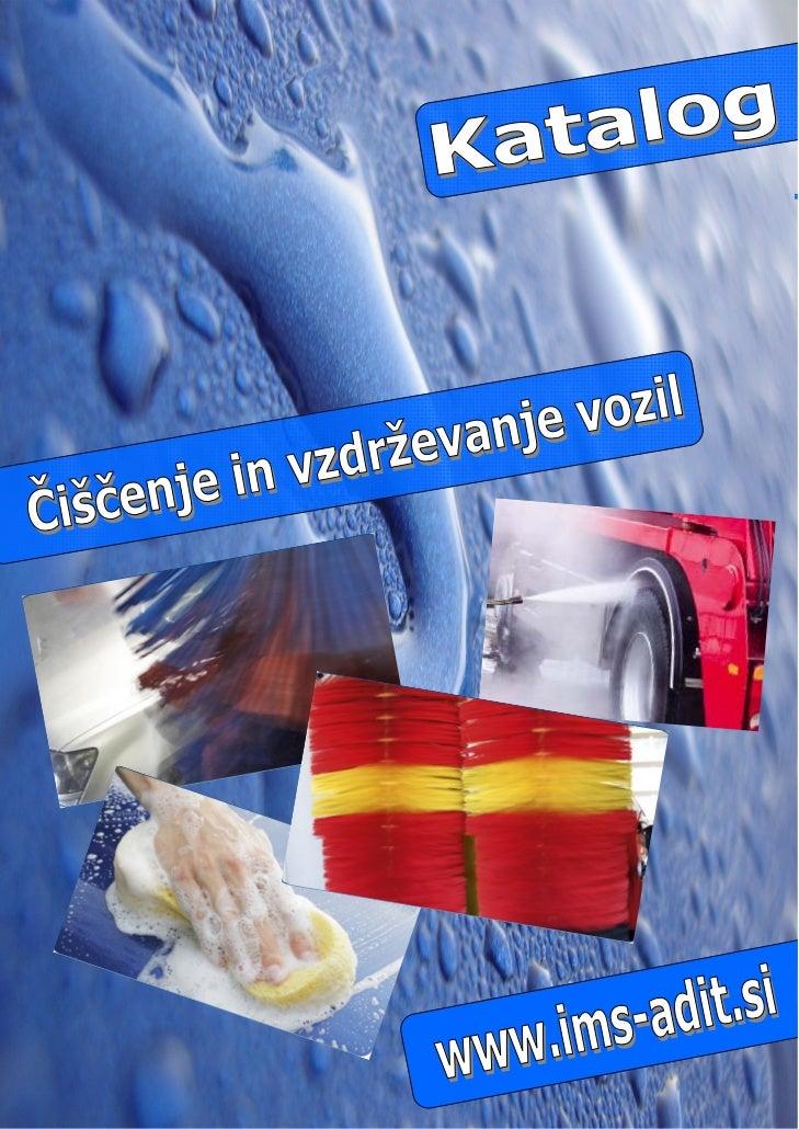 WWW.IMS-ADIT.SI  Smo podjetje z več kot 20 letno tradicijo na Slovenskem tržišču. Z  doslednim spoštovanjem osnovnih načel...