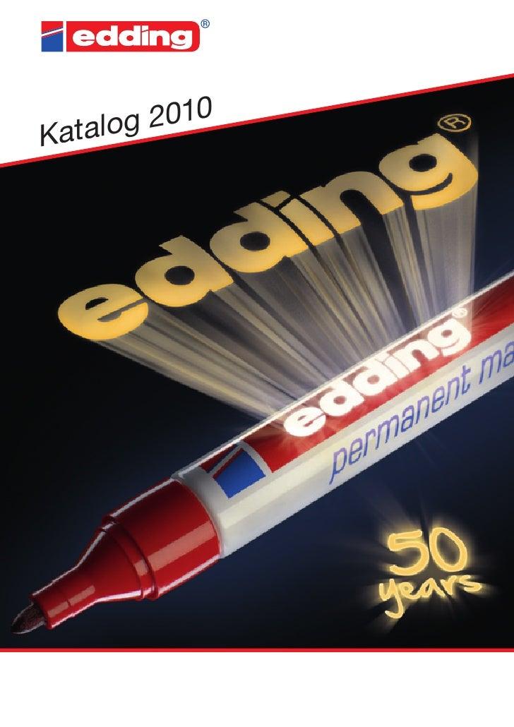 edding Gesamtkatalog 2010