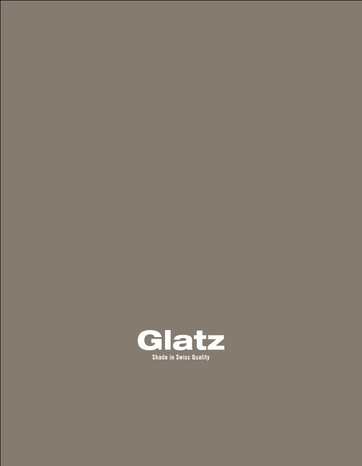 glatz  Katalog brandbook 2011