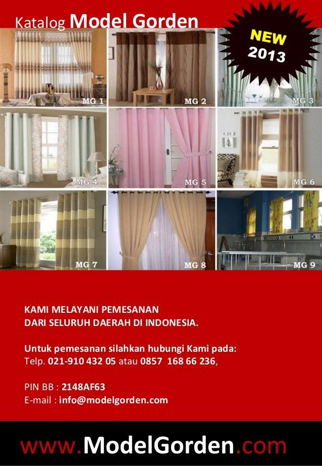 Katalog gorden 2013