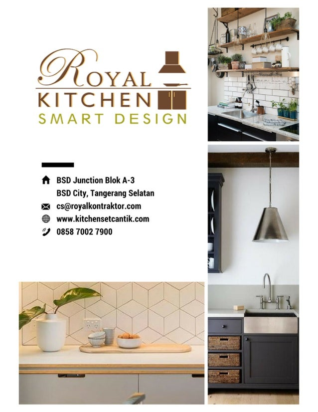 katalog kitchen set terbaik
