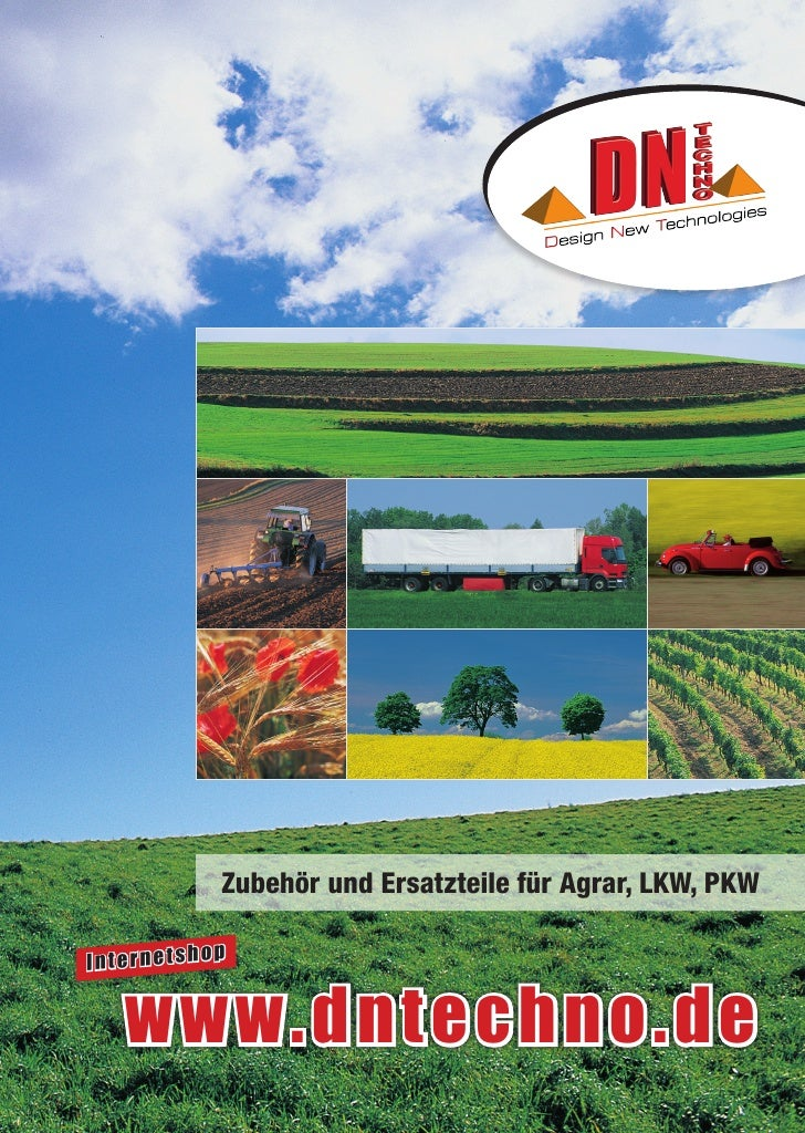 Zubehör und Ersatzteile für Agrar, LKW, PKW              pInternetsho   www.dntechno.de