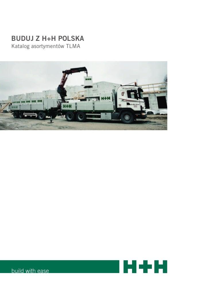 BUDUJ Z H+H POLSKA Katalog asortymentów TLMA