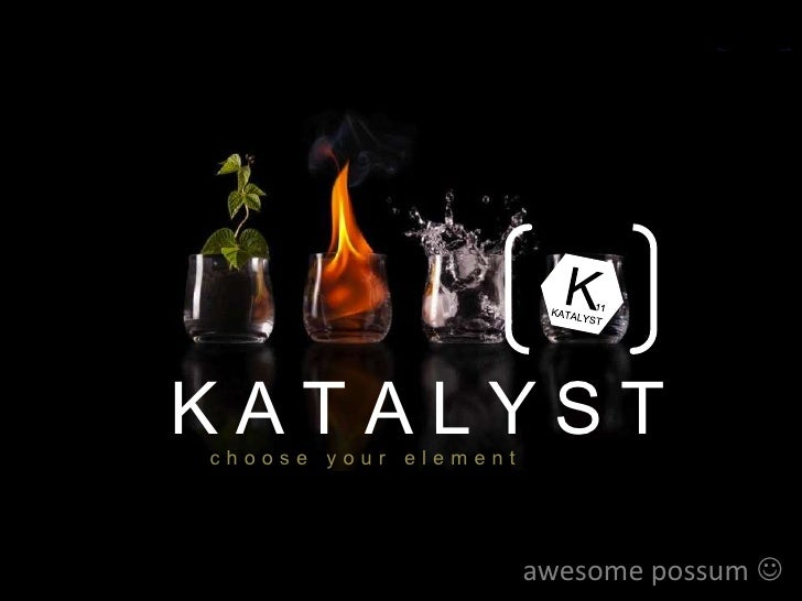KATALYST                      choose your elementSituationAnalysis            Product & Brand                concept      ...