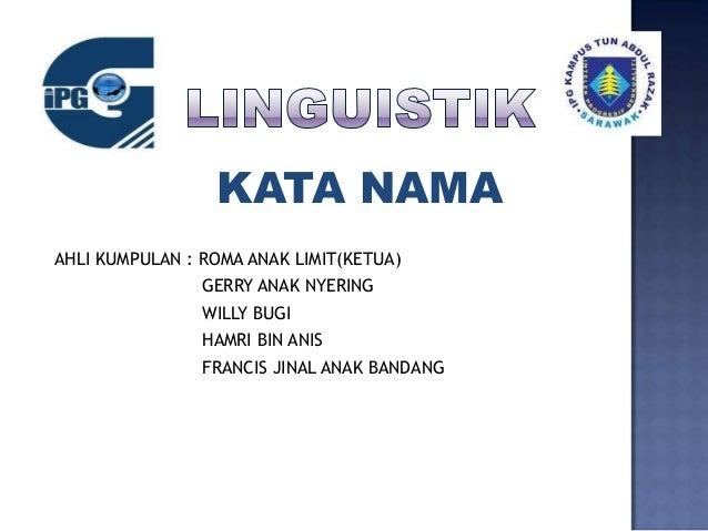 Kata nama presentation[1]