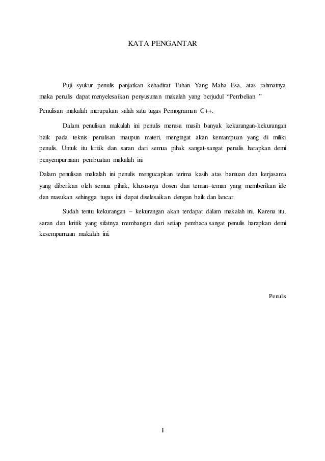 Contoh Daftar Isi Makalah | newhairstylesformen2014.com