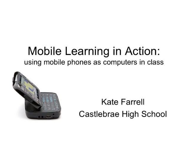 Kate Farrell, Castlebrae Community High School