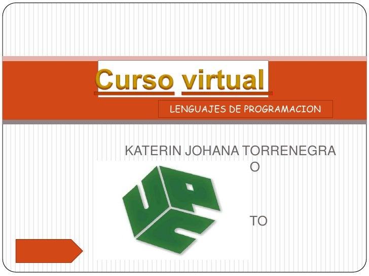 curso virtual lenguajes de programacion