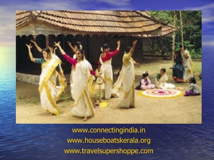 www.connectingindia.in www.houseboatskerala.org www.travelsupershoppe.com