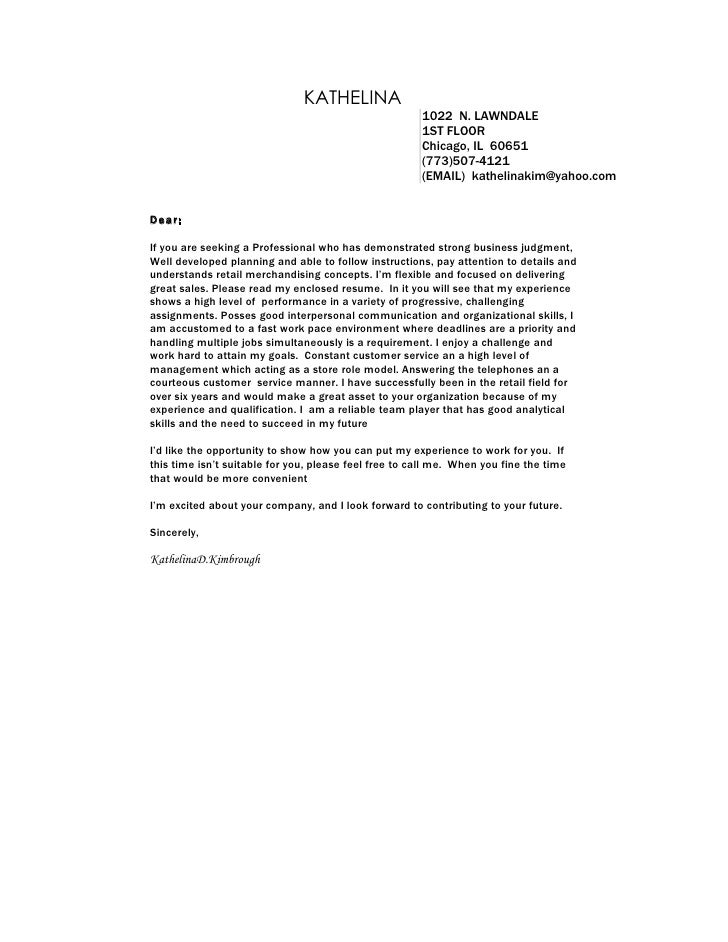 Yours Sincerely Retail Manager Cover Letter Nmctoastmasters  Retail Cover Letter Examples