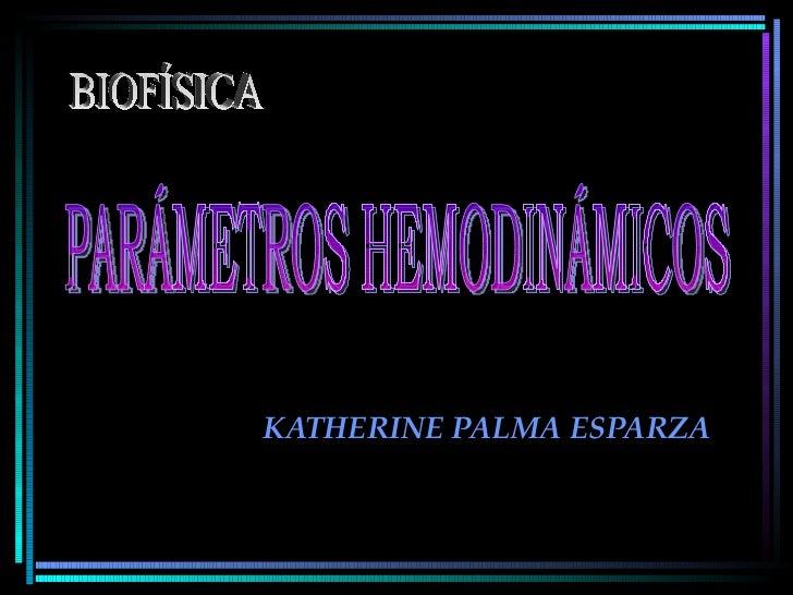 KATHERINE PALMA ESPARZA