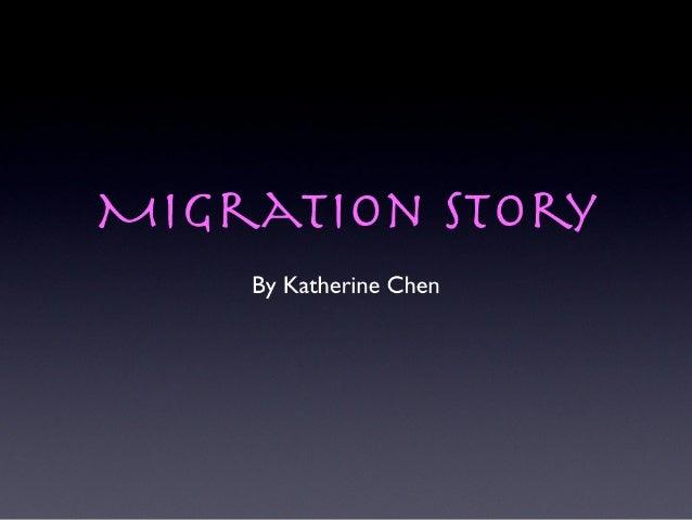 Katherine's migration