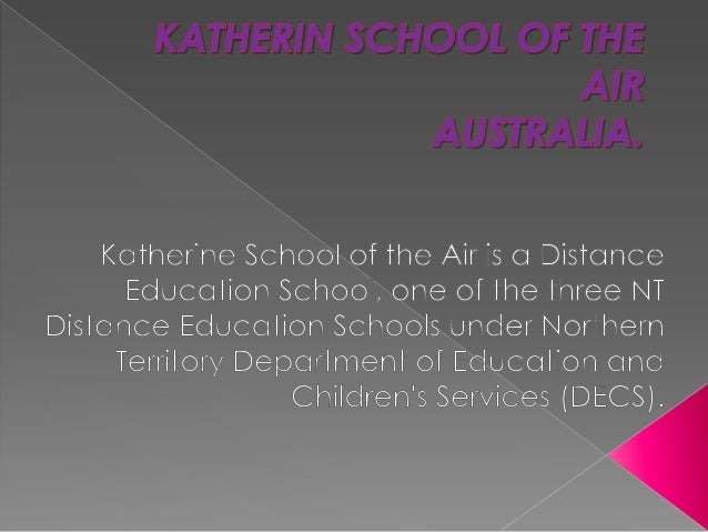 Katherin school of the air mª ca