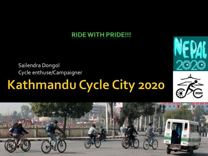 Kathmandu cycle city 2020