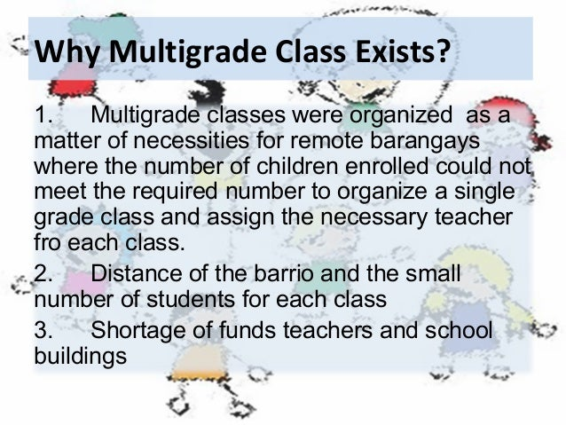 """multigrade teacher and students The multigrade classroom: a resource handbook for small, rural schools book 7: planning and using peer tutoring november 1999  students serve as """"teachers"""" to other students within and across differ-ing grade levels the research on what makes for effective tutoring in."""
