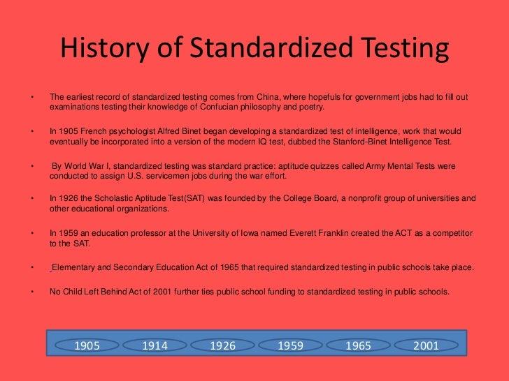 essays against standardized testing