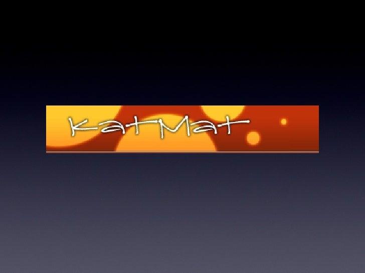 Katmat instructions