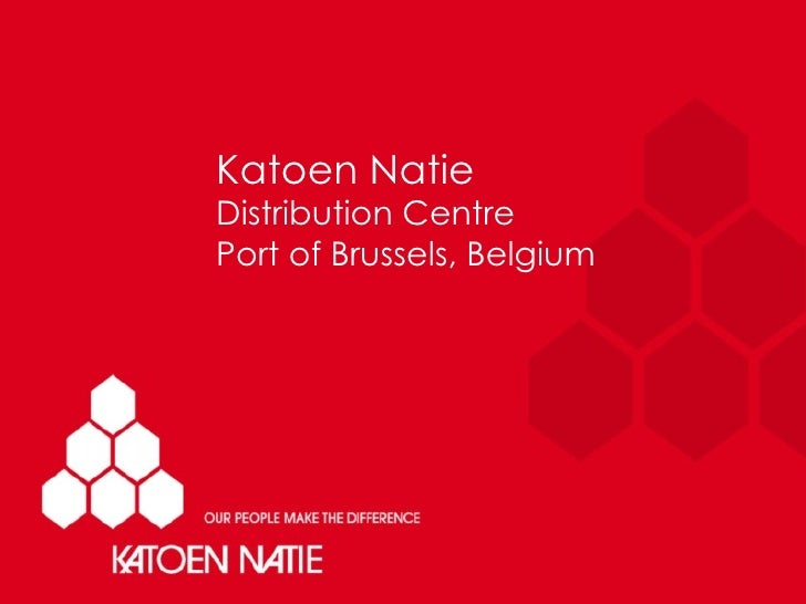 Katoen Natie will build a new Brussels Distribution Centre